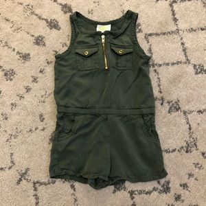 Adorable Olive/Army Green Crazy 8 Romper